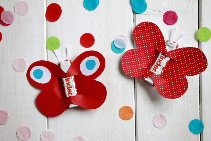 Anzeige: Kindergeburtstag feiern: Ideen für eine Kindergeburtstag-Einladungskarte und ein Kindergeburtstag-Mitgebsel mit Ferrero kinder Schokolade – DIY Geschenke
