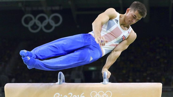 Whitlock won bronze, Great Britain's first all-around Olympic medal since 1908