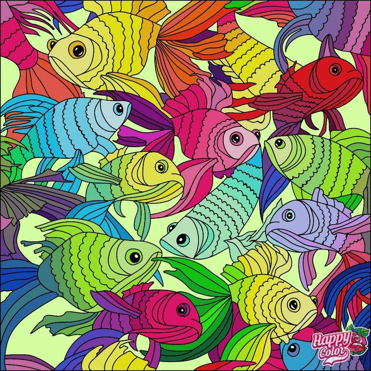 Раскраска Happy Color от Sobaka Barabaka Barklay   Раскраски