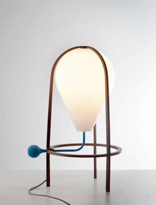 A Lamp That You Pump Up? Olab by Grégoire de Lafforest Photo