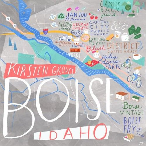 24 Hours in Boise with Kirsten Grove of Simply Grove