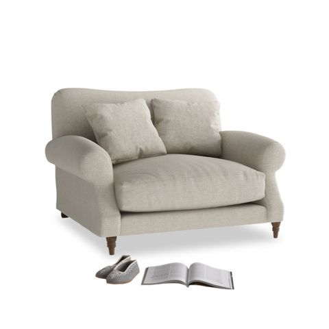 Extra-Deep Love Seat from Crumpet +Loaf