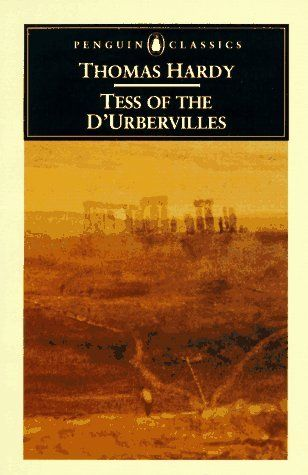 "Thomas Hardy ""Tess of the d'Urbervilles"". Tess Durbeyfield is a girl from a poor family who is thrown into a difficult situation without any fault of herself. This will determine her later life which is not a happy one."