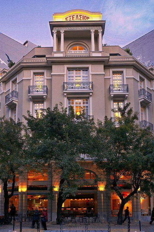 TRAVEL'IN GREECE I ExcelsiorHotel, #Thessaloniki, #Greece