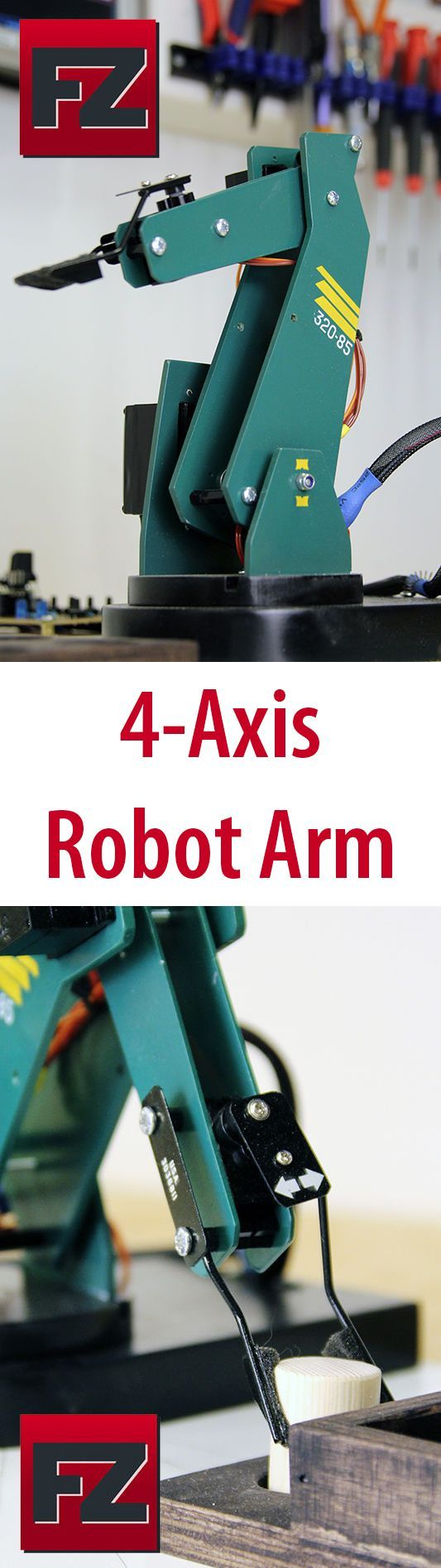 13 Best Robot Inspiration Images On Pinterest Robotics Robots And Squishy Circuits Standard Kit Robotshop I Made This Project Mainly To Learn How Use Servos With Arduino 3dprintingdiy