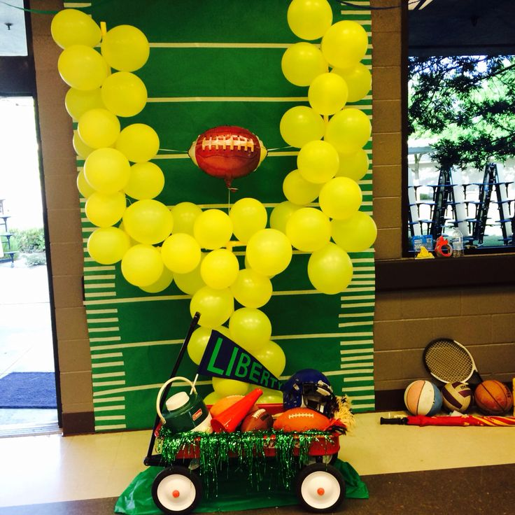 Decor for Mother/Son Tailgate dance