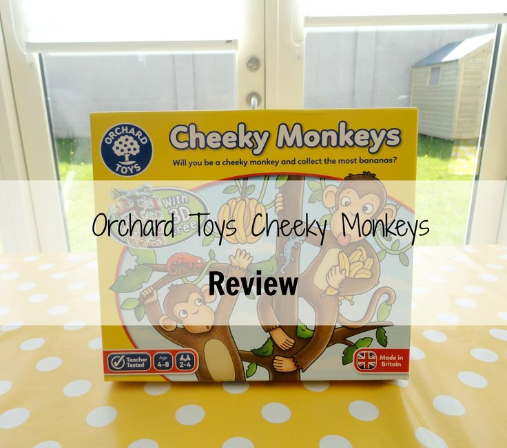 Orchard Toys Game review. Cheeky monkeys