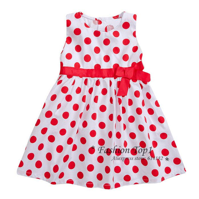 Aliexpress.com : Buy Wholesale New 2015 2 6Y red dot bow baby girl party frocks dress princess girl's dresses clothing atacado de roupas online from Reliable dress shine suppliers on little Miss  | Alibaba Group
