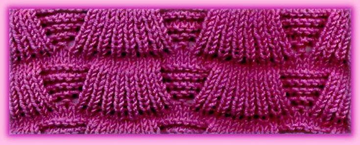 узоры для вязания спицами с описанием