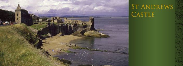 """St Andrews Castle has been by turns a fortress, palace and prison. It is largely ruined but remains a fascinating visit on any trip to St Andrews. Children will love the visitor centre, with its beautifully illustrated history of those who lived – and died – in the castle. St Andrews Castle's infamous """"bottle dungeon"""" and the underground mine and countermine are well-preserved evidence of the castle's medieval past, but they may not be suitable for the faint-hearted!"""