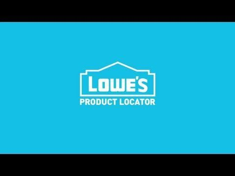 Lowe's App Product Locator Feature -- :90 #lowe'shomeimprovementlocations,