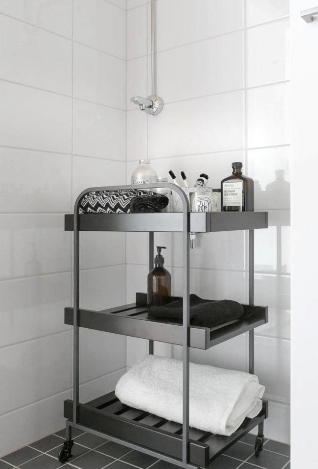 Ikea Hj 196 Lmaren Hylle H O M E Pinterest Bathroom Cart