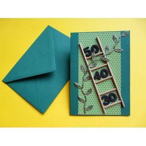 karte selbst basteln eine bastelidee zum geburtstagskarten selber basteln karten pinterest. Black Bedroom Furniture Sets. Home Design Ideas