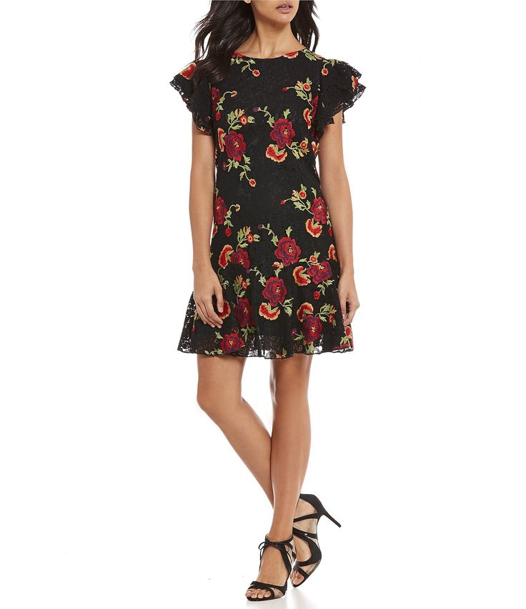 Shop for Eva Franco Lotus Embroidered Ruffle Sleeve Dress at Dillards.com. Visit Dillards.com to find clothing, accessories, shoes, cosmetics & more. The Style of Your Life.
