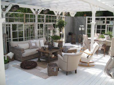 Garden gardenhouse greenhouse outdoor room uterum glasshouse