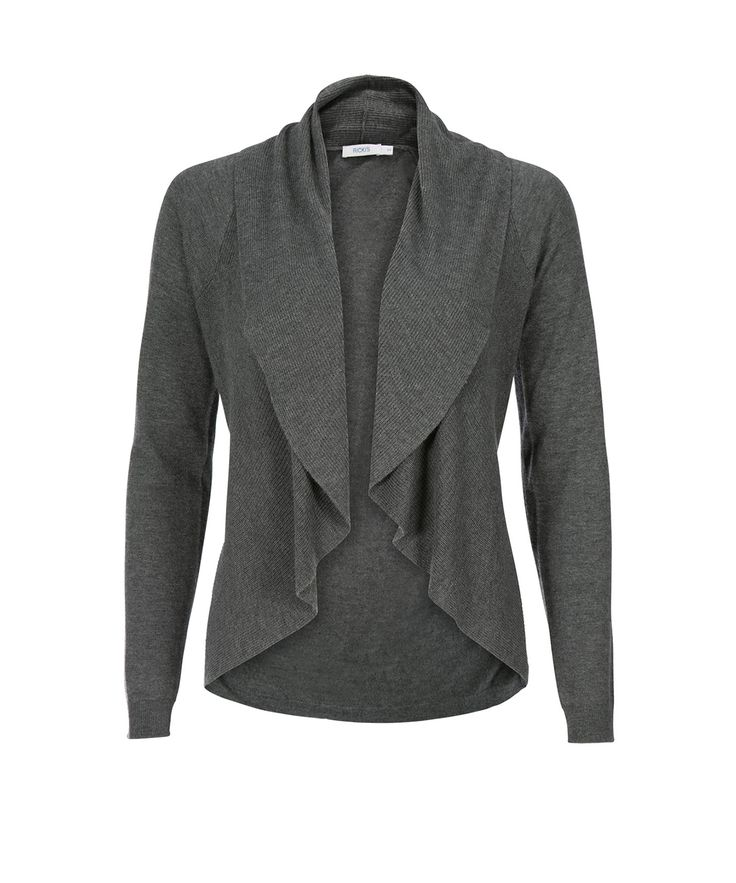 Circle Body Open CardiCircle Body Open Cardi, Grey