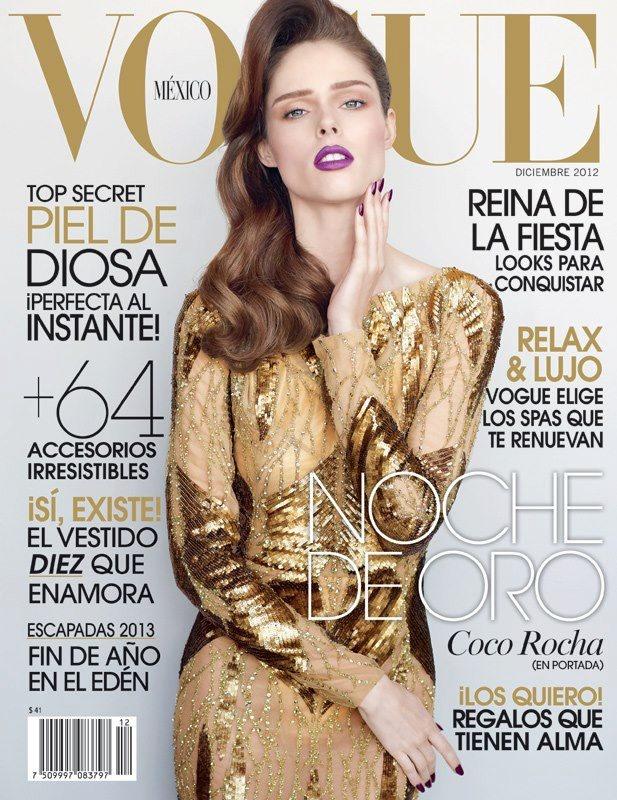 @Vogue México @Coco Rocha #voguemexico
