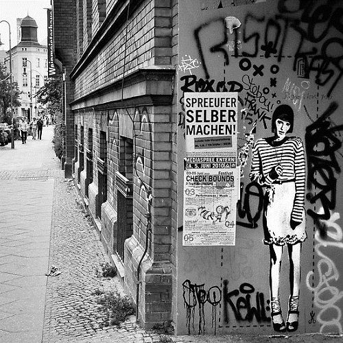 Berlin graffiti artists scene: XOOOOX's work