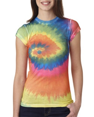 Awesome Tie Dye shirts for juniors at www.love-this-stuff.com! $12.00 each and FREE SHIPPING!: Dye Juniors, Tie Dye Shirts, Tee 1455, Sublimation Dyed Poly, Awesome Tie, Ties, Dyes