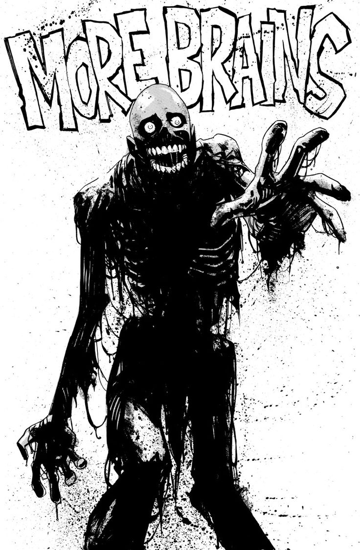 Tar man from Return of the Living Dead