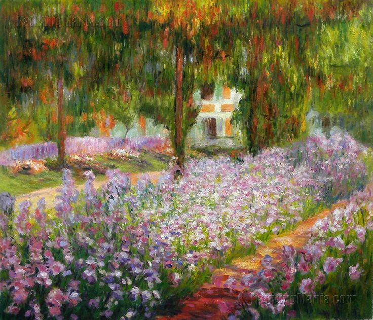 Pintura monet and google on pinterest for Jardines de monet