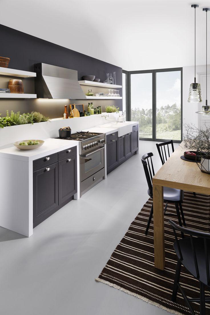 Ideen für deine neue schwarze kochinsel bilder von edlen dunklen kücheninseln