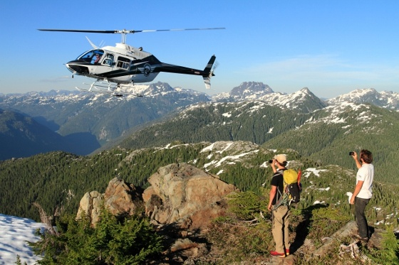 Helicopter excursions with @Atleo Air at Clayoquot Wilderness Resort. Imagine hiking on remote mountain tops! www.wildretreat.com