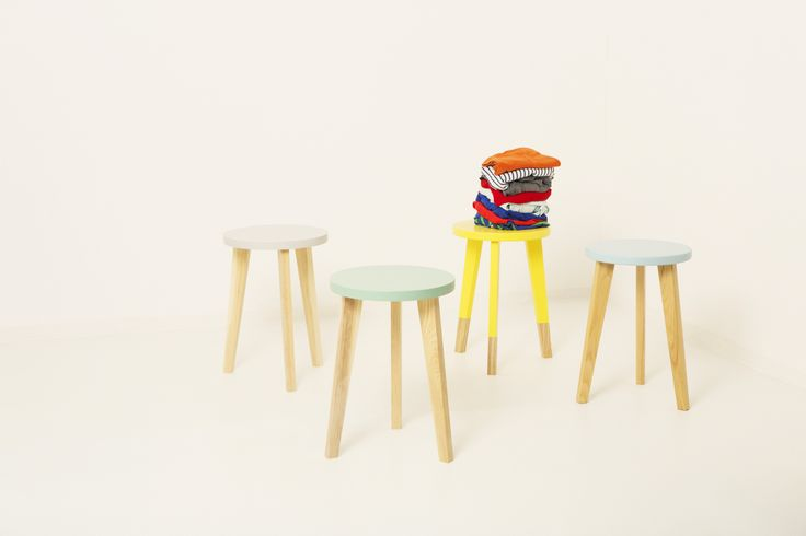 Colourful Milking Stools