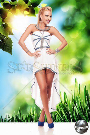 Rochie Ocassion Fatale Flavour White