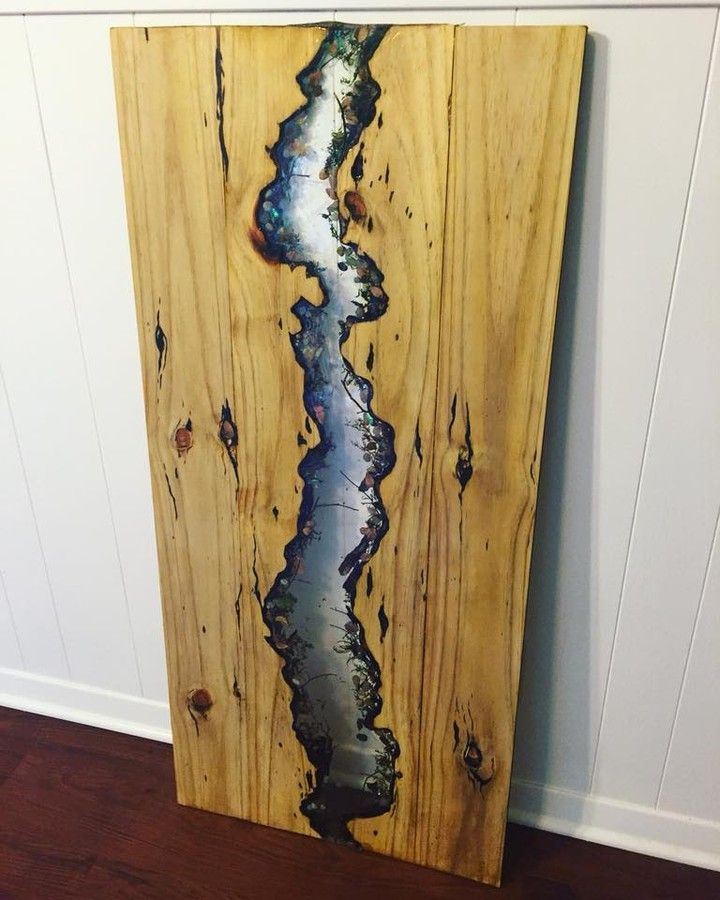 Live Edge Epoxy River Table By Our Brand Ambassador Lauren Smith