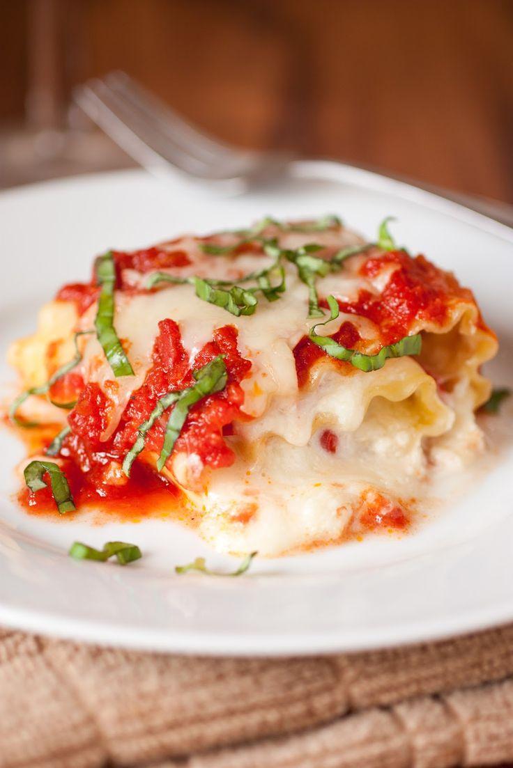 Caprese Lasagna Roll Ups - Cooking Classy. To fill a 9 x
