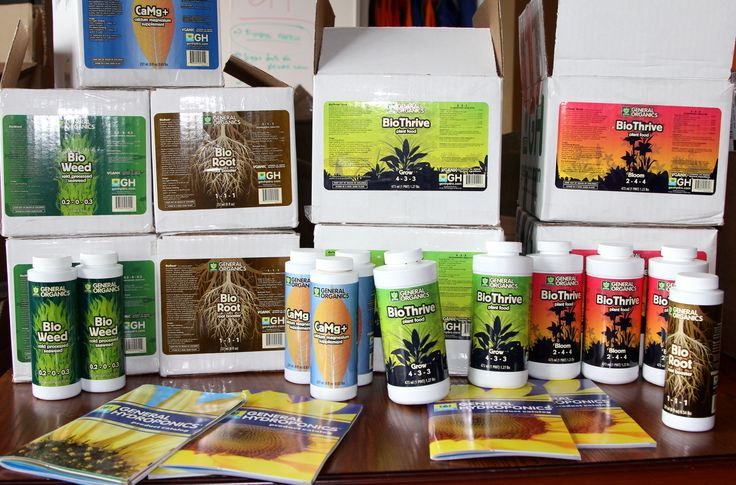 Woo hoo! We just received this massive (+ amazing) shipment of General Hydroponics growing supplies & nutrients--and could not be more thrilled. We use only the best ;). #hydroponics #gardening