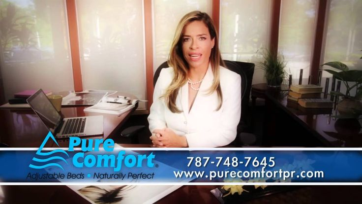 Video Editing and Graphics  Pure Comfort Infomercial