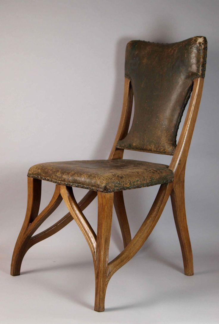 Rare original beech stained chair by eugene gaillard circa 1900 at - An Art Nouveau Chair Designed By Eugene Gaillard Circa 1899 The Legs And Frame Of