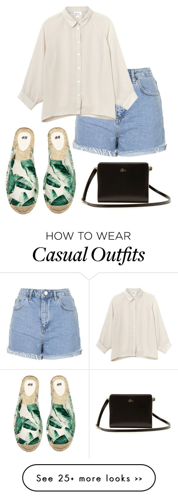 """Outfit of the Day: Casual"" by fashionbloggerwannabe on Polyvore"