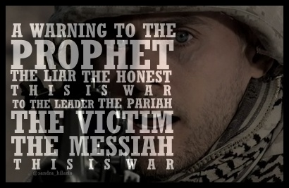 """A warning to the prophet..."" @Angela Faranda SECONDS TO MARS"