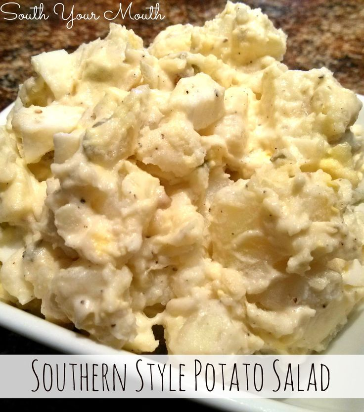 South Your Mouth: Southern Style Potato Salad