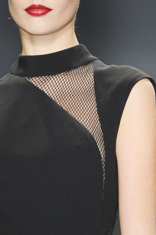REEM ACRA FALL 2013 #Hairnet Detail #Black