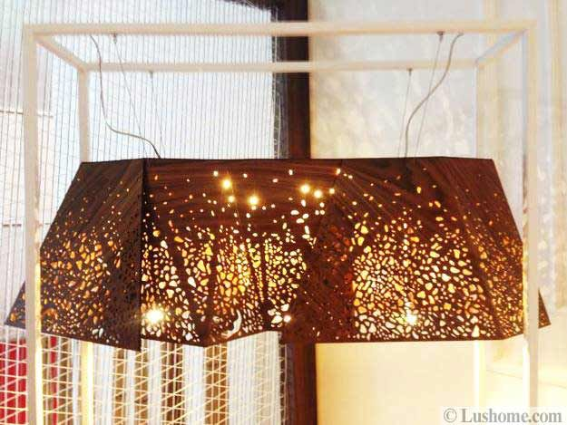 modern lighting fixtures; Modern furniture and decor accessories made with transparent plastic or glass and their combination with solid wood and metal items are super modern interior design trends for 2015.