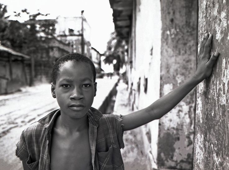 Young man, Ivory Coast.