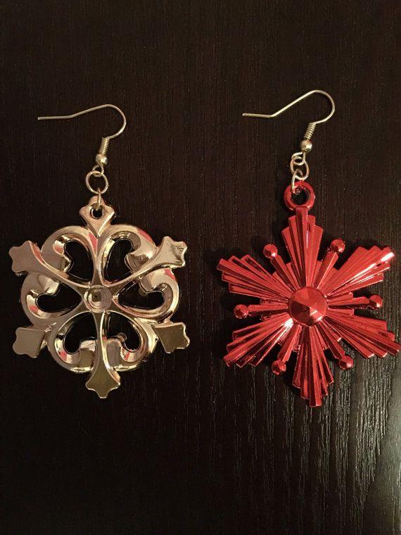 Ornament Earrings  Ready To Ship Christmas Earrings Fun