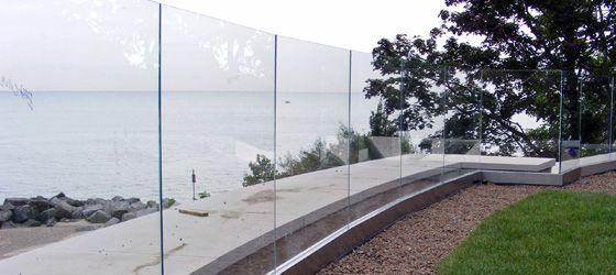 Northbrook Glass Railings | Northbrook Glass Railing System ...