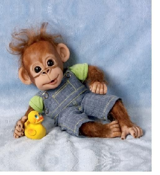 83 Best Images About Monkey Stuffies Amp Dolls On Pinterest