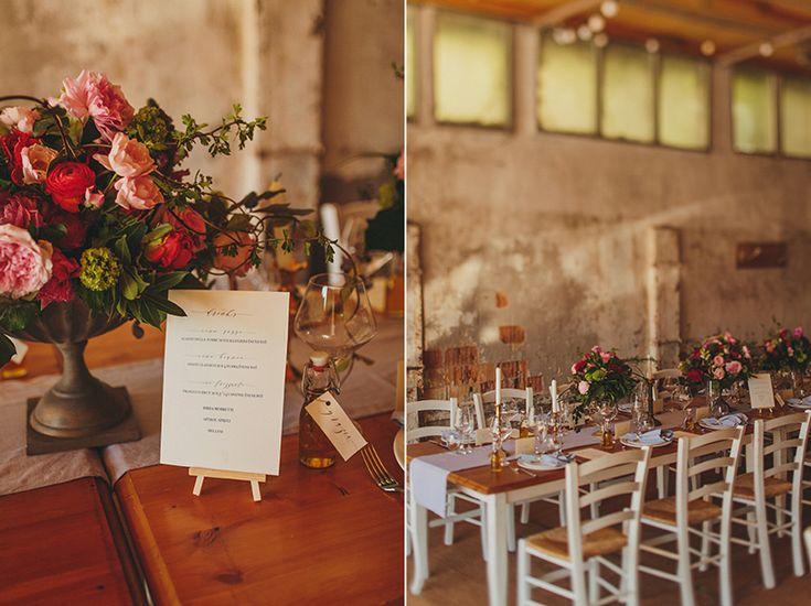 Palazzo Di Pietro wedding tables dinner