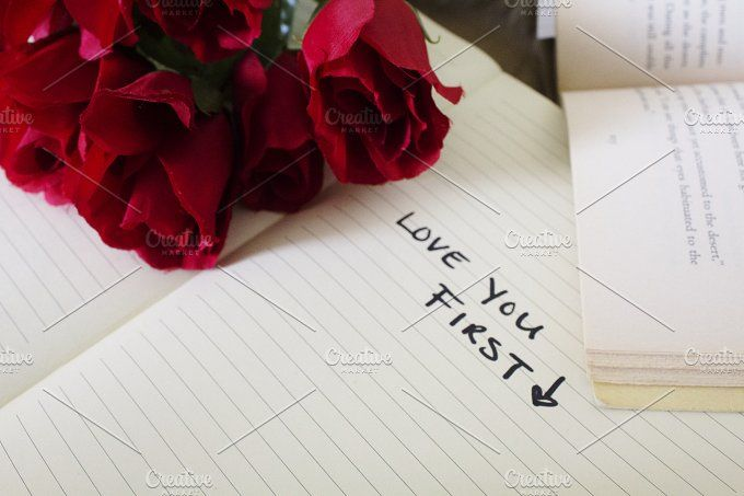 Self Love and Roses by HUNCreative on @creativemarket