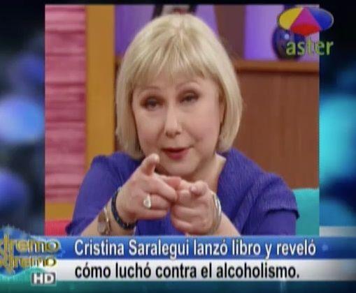 Farándula Extrema: Cristina Lanza Libro Y Su Lucha Contra El Alcoholismo #Video