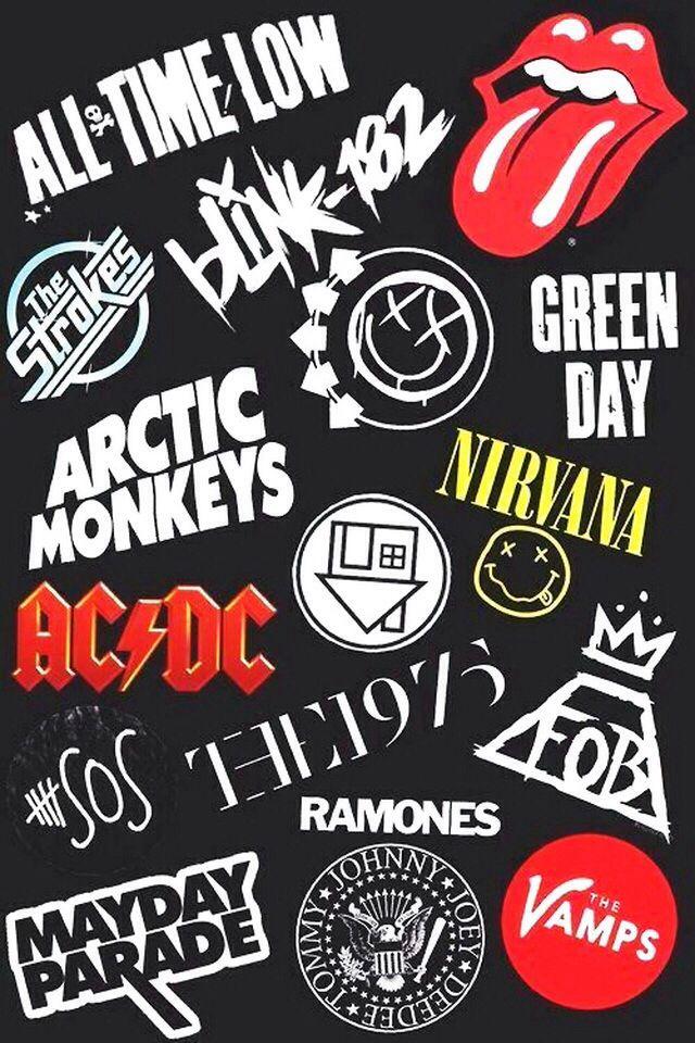 Bands Wallpaper Arctic Monkeys Nirvana Band Wallpapers Green Day Mayday Parade