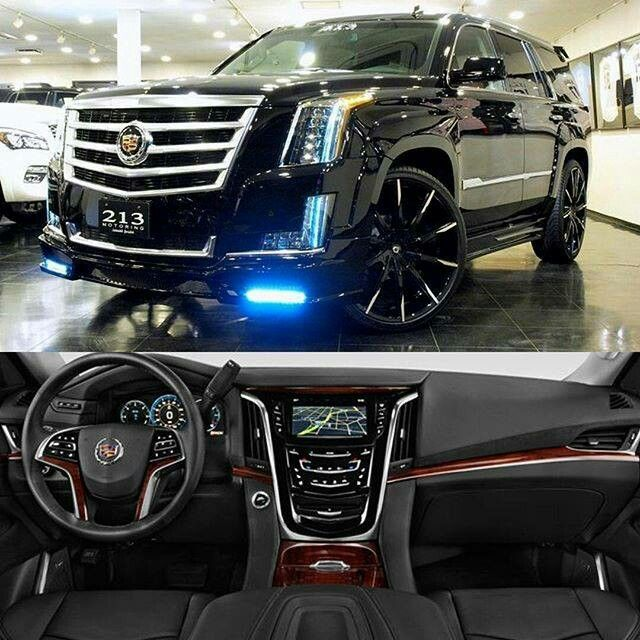 2016 Cadillac Escalade Custom Cars Pinterest And