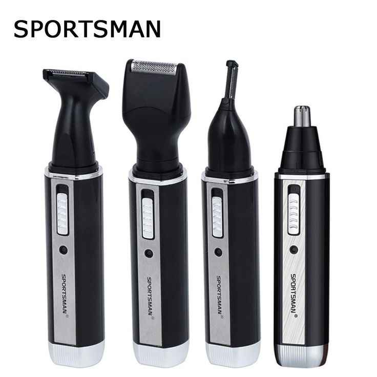 [Visit to Buy] 4 In 1 Eyebrow Nose Hair Trimmer For Men Beard Ear Professional Electric Hair Facial Trimmer For The Nose  Eyebrows Nariz Shaver #Advertisement