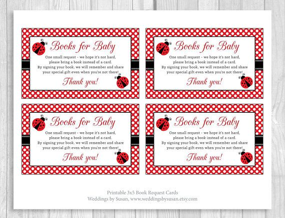 38 best Ladybug Baby Shower or Birthday Party images on Pinterest - baby shower agenda template